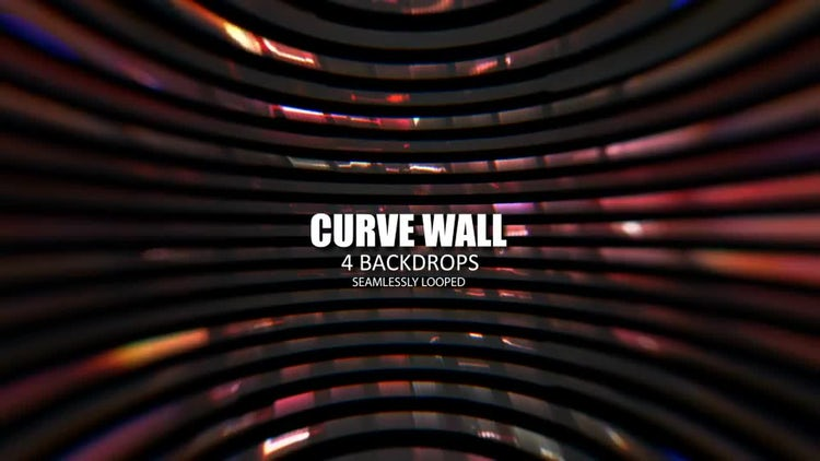 Curved Wall Pack: Stock Motion Graphics