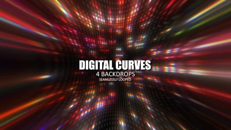 Digital Curves Pack: Stock Motion Graphics