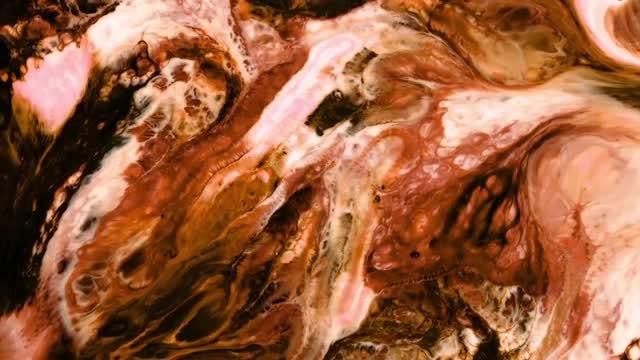 Chocolate Paint: Stock Video