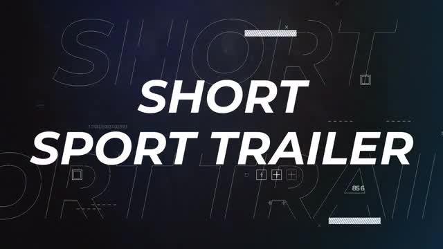 Short Sport Trailer: Premiere Pro Templates