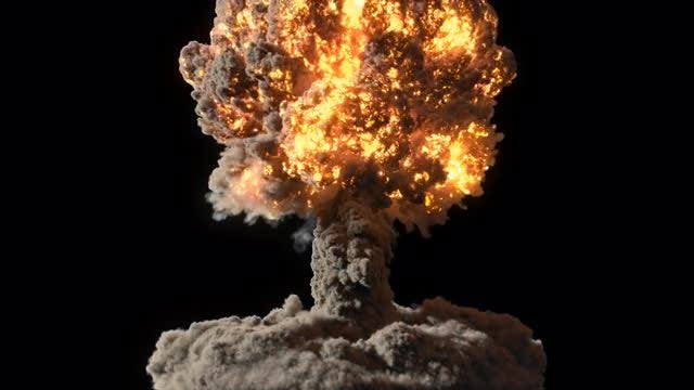 Nuclear Explosion: Stock Motion Graphics