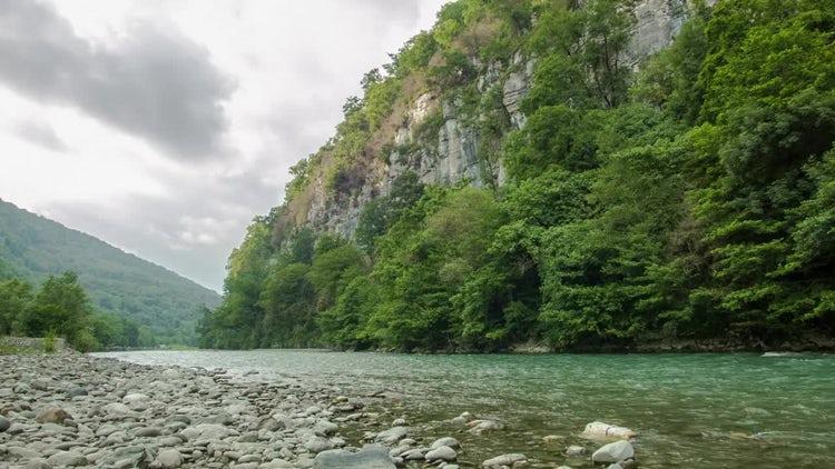 Mountain River: Stock Video
