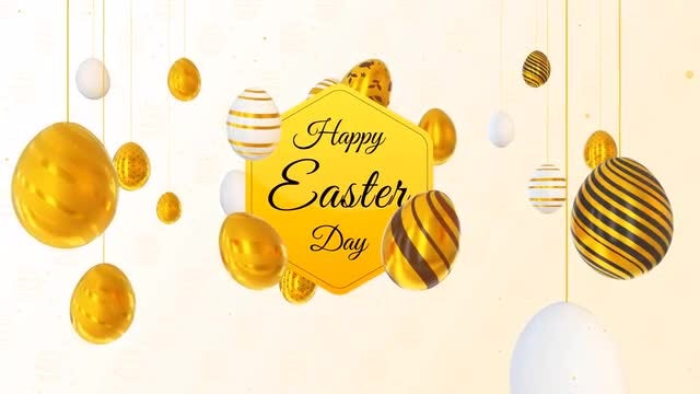 Happy Easter Opener: After Effects Templates