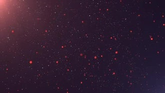 Cinematic Particles Background: Motion Graphics