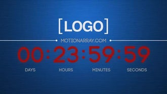 Countdown: After Effects Templates
