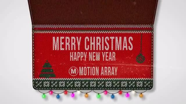 Christmas Wooly Land: After Effects Templates