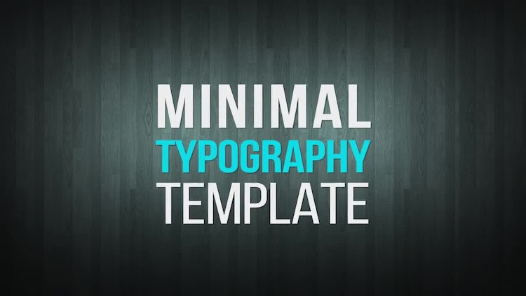 how to make a typography after effects