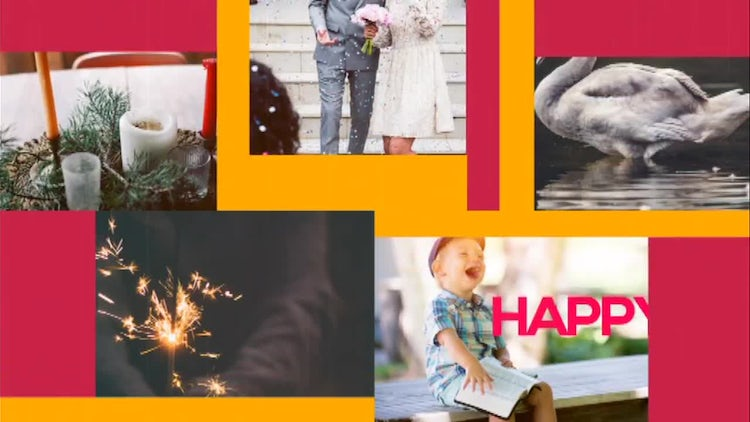 Happy Slide: After Effects Templates