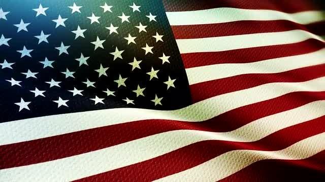 USA Flag: Stock Motion Graphics
