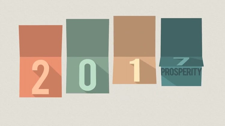 Happy New Year Minimal: After Effects Templates