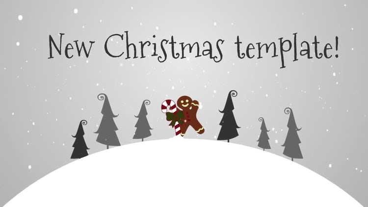Merry Christmas: After Effects Templates