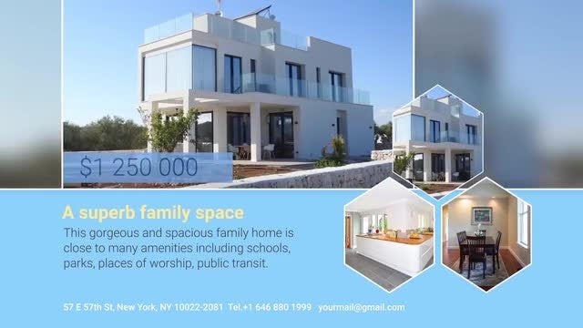 Real Estate Template: After Effects Templates