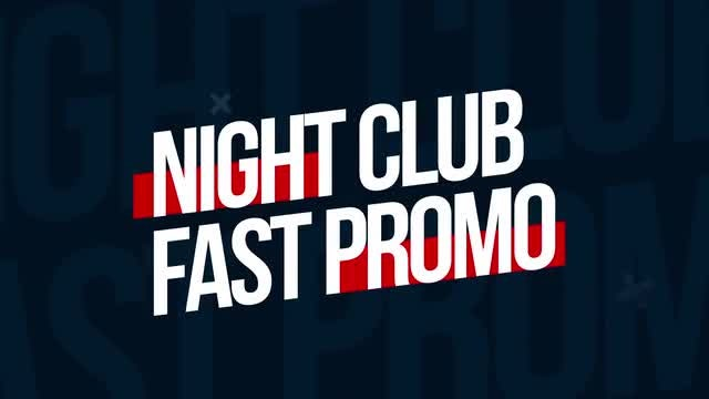 Night Club Fast Promo: After Effects Templates