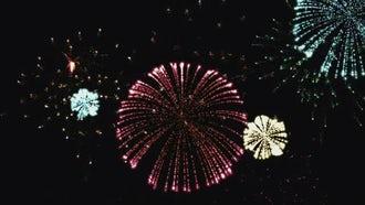 Color Fireworks: Motion Graphics