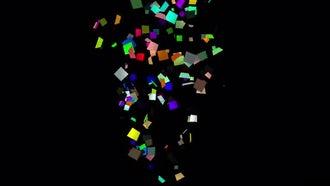Splash Confetti. Three options: Motion Graphics