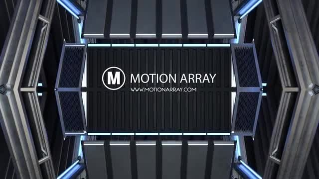 Logo Rail Reveal: After Effects Templates
