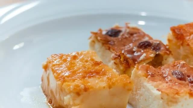 Delicious Cheesecake: Stock Video
