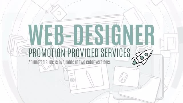 Web Designer Promo: After Effects Templates