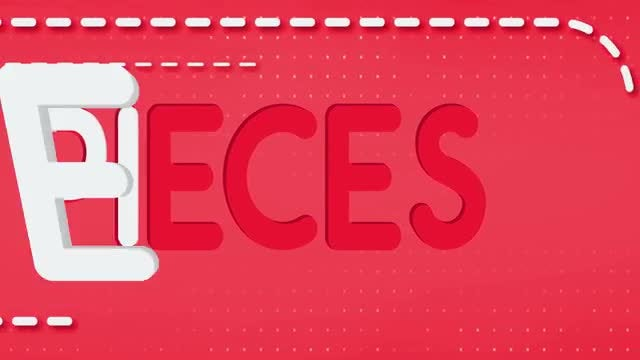 Pieces Title Reveal: After Effects Templates