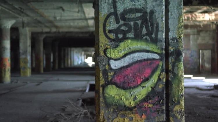 Graffiti: Stock Video
