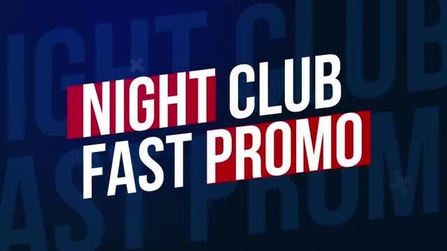 Night Club Fast Promo: Premiere Pro Templates