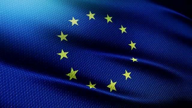 European Union Flag: Stock Motion Graphics