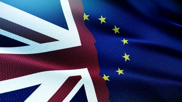 Brexit Flag: Stock Motion Graphics