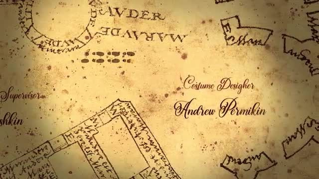Captions On Marauders Map: Premiere Pro Templates