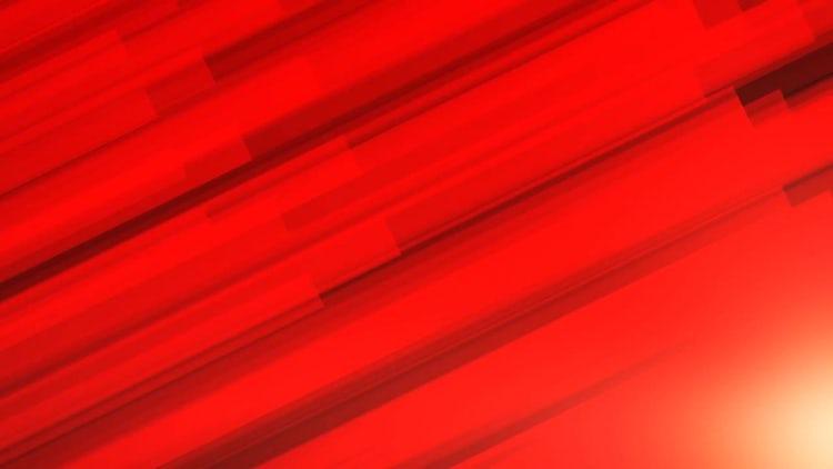 Red Diagonal Bars: Motion Graphics
