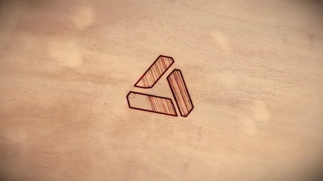 Logo | Burnt Wood: After Effects Templates
