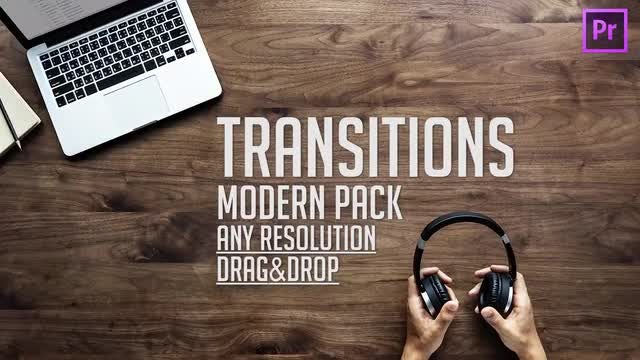 Modern Transitions Presets (pack 6): Premiere Pro Presets