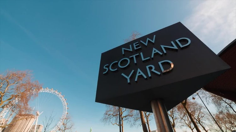 Scotland Yard: Stock Video
