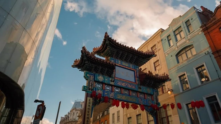Chinatown In London: Stock Video