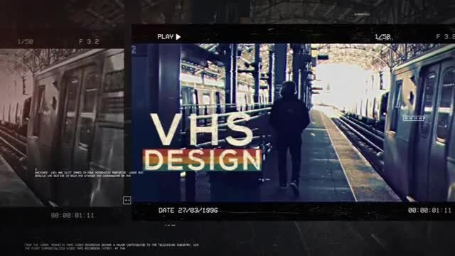 VHS Urban Style: After Effects Templates
