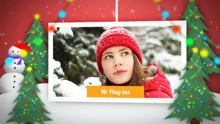Chrismas and New year Slideshow: After Effects Templates