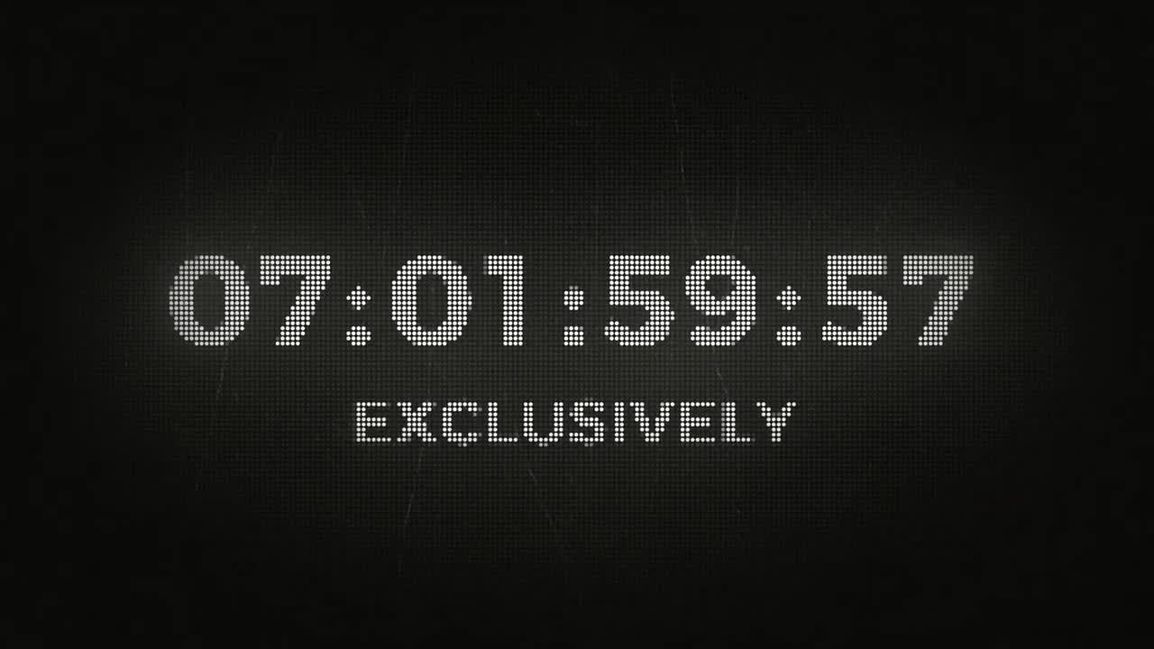 Countdown Clock - After Effects Templates | Motion Array