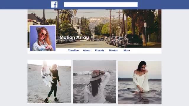 Facebook Promo: Premiere Pro Templates