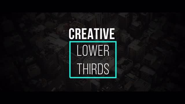 Creative Lower Thirds: Premiere Pro Templates