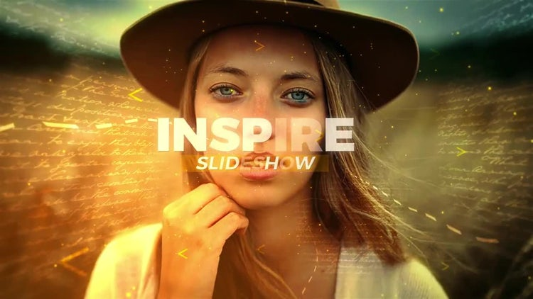 Inspire Slideshow: After Effects Templates