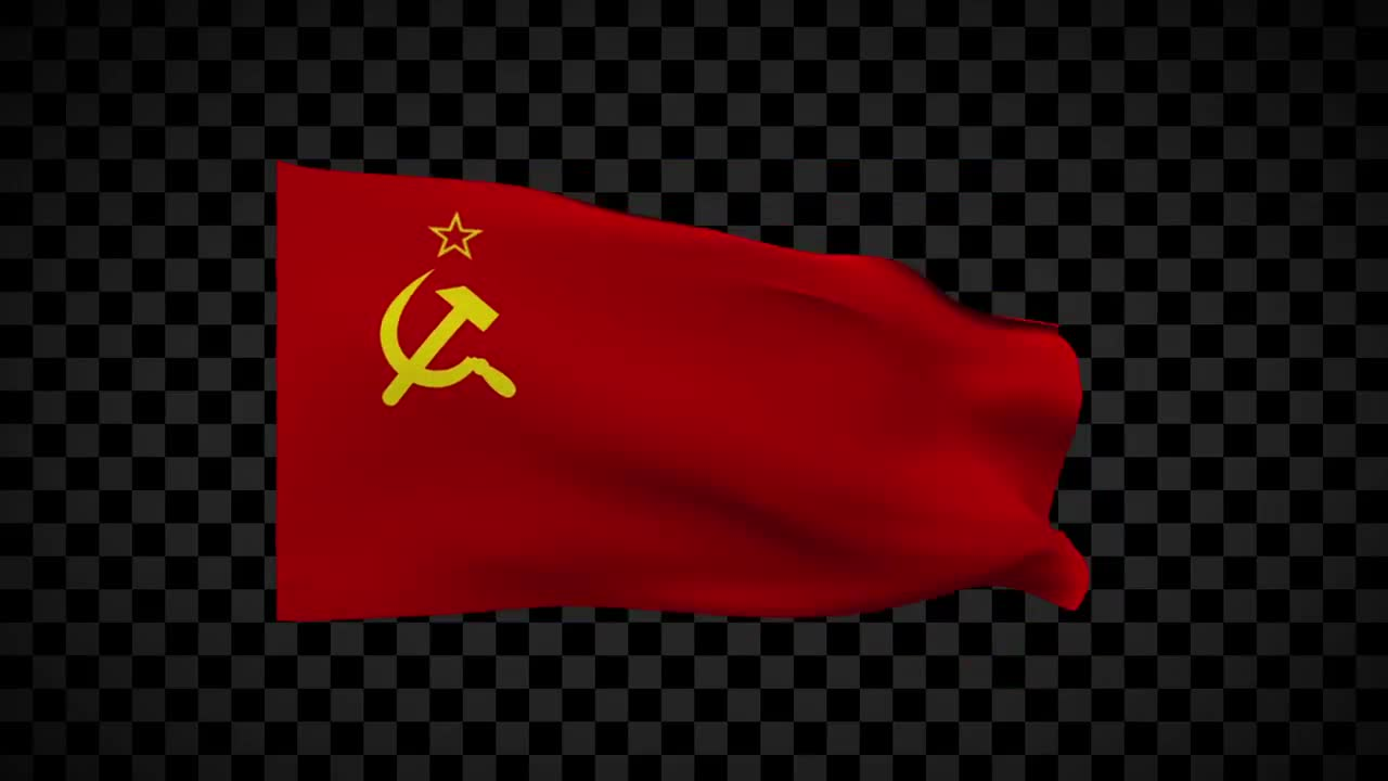 Ussr Flag Stock Motion Graphics Motion Array