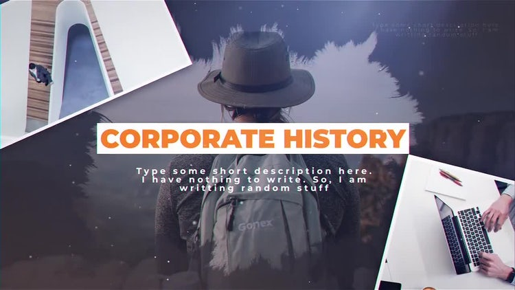 Corporate History: After Effects Templates