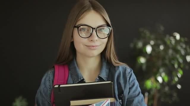 British Student: Stock Video