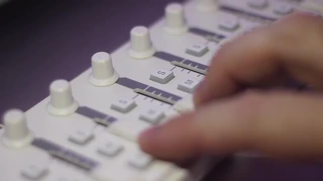 Audio Mixer: Stock Video