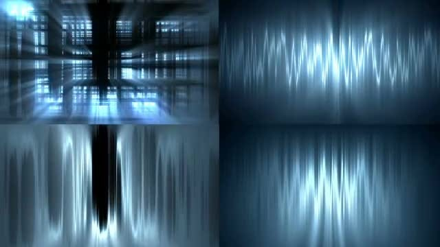 Abstract Blue Backgrounds: Stock Motion Graphics