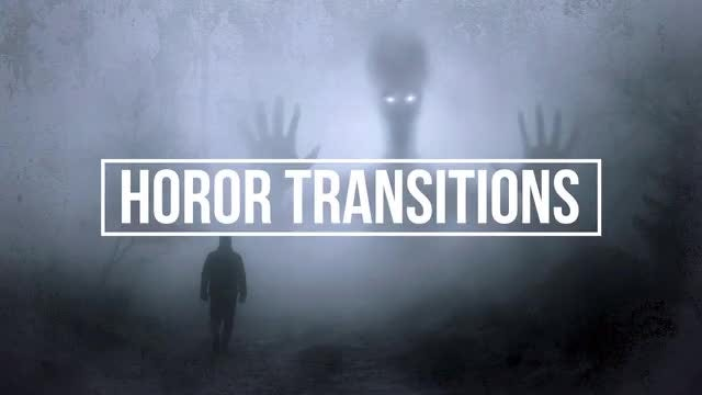 Horror Transitions: Premiere Pro Presets