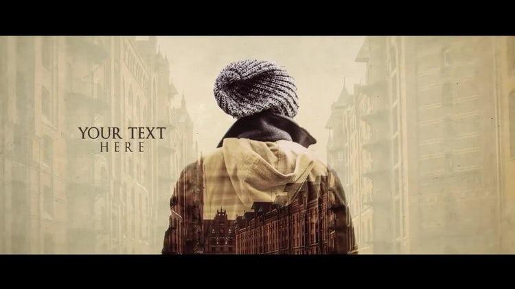 Double Exposure Slideshow: Premiere Pro Templates