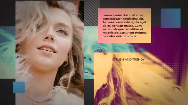 Trendy Fashion Promo: After Effects Templates