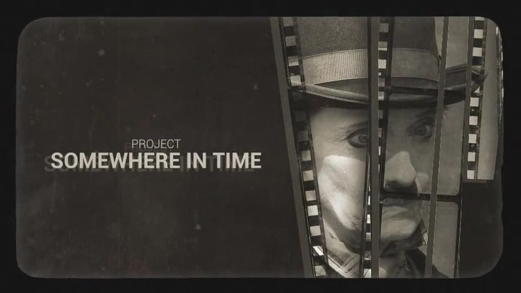 Somewhere In Time: After Effects Templates