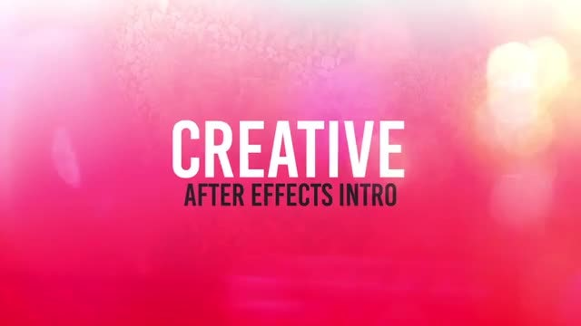 The Moving Opener: After Effects Templates