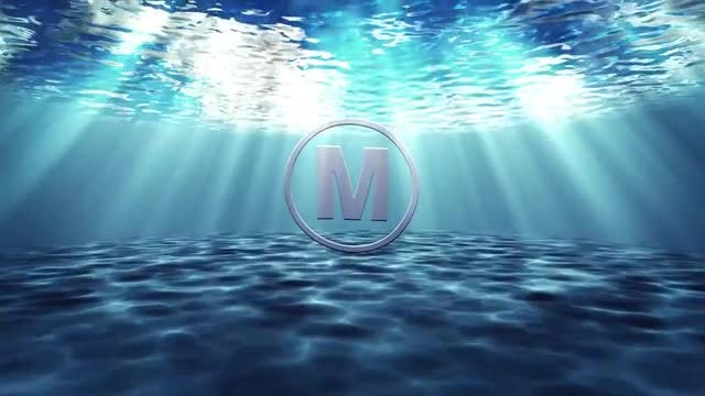 Underwater Logo: After Effects Templates